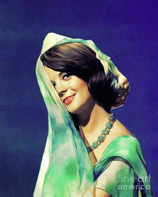 Royalty-Free and Rights-Managed Images - Natalie Wood, Hollywood Legend by Esoterica Art Agency