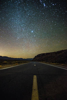Firefighter Patents Royalty Free Images - Night time and dark sky over death valley national park Royalty-Free Image by Alex Grichenko