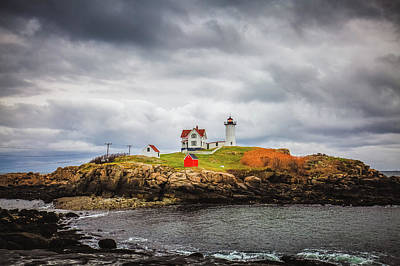 Photograph - Nubble Light by Robert Clifford