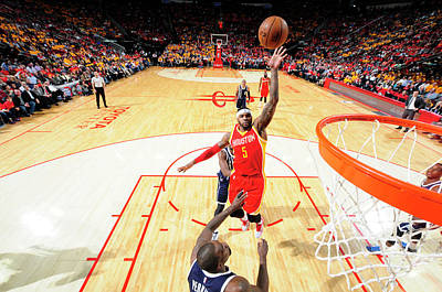 Photograph - Oklahoma City Thunder V Houston Rockets by Bill Baptist