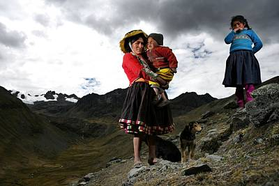 Photograph - Peru Trekking by Brent Stirton