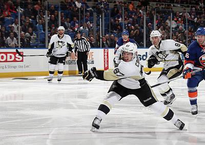 Photograph - Pittsburgh Penguins V New York Islanders by Bruce Bennett