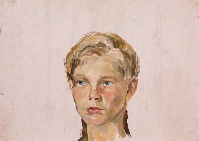 Minimalist Movie Quotes - Portrait of a Boy by Igor Barkhatkov