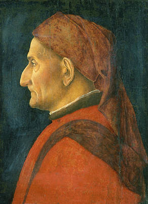 Painting - Portrait Of A Man by Andrea Mantegna