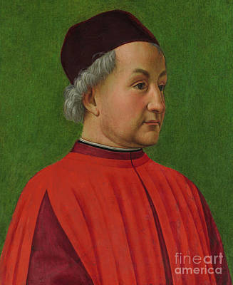 Painting - Portrait Of A Man by Domenico Ghirlandaio