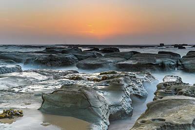Photograph - Rocky Coastal Sunrise by Merrillie Redden