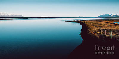 Beastie Boys - Scene of tranquility and relaxation in a calm sea in nature by Joaquin Corbalan