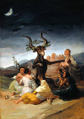 Painting - Witches Sabbath  by Francisco Goya