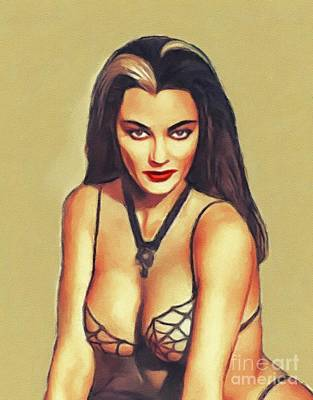 Royalty-Free and Rights-Managed Images - Yvonne De Carlo, Vintage Actress by John Springfield