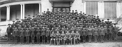 Black And White Flower Photography - 62nd Battalion C.E.F. Vancouver, B.C. 4 by MotionAge Designs