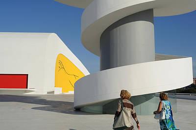Owls -  Niemeyer Center - Spain by Carlos Mora