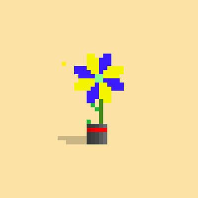 Caravaggio - #636 Chanelle - Pixel.Flowers by Roscoe Hart and Adam Oriti