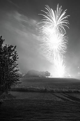 Michael Jackson - Fireworks Over Joplin by Michael Munster