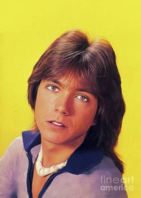 Royalty-Free and Rights-Managed Images - David Cassidy, Hollywood Legend by Esoterica Art Agency