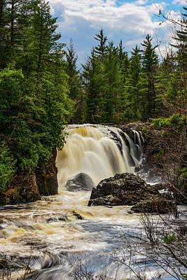 American Milestones - Dead River Falls by Michael Tucker