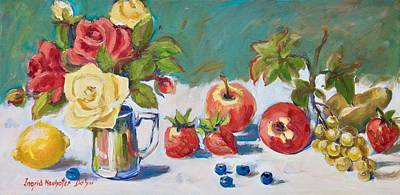 Painting - Floral Still Life by Ingrid Dohm