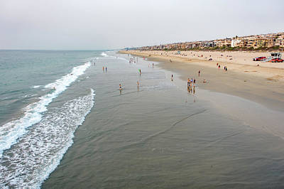 Photograph - Huntington Beach Scenes And Surroundings In November by Alex Grichenko