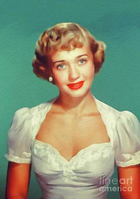 Royalty-Free and Rights-Managed Images - Jane Powell, Vintage Actress by Esoterica Art Agency