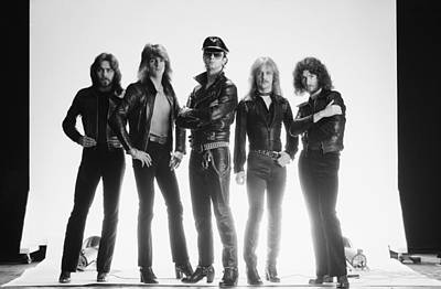 Photograph - Judas Priest by Fin Costello