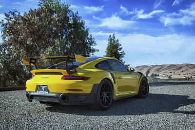 Photograph - #porsche 911 #gt2rs #print by ItzKirb Photography