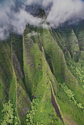 Abstract Sailboats - Private Kauai by Steven Lapkin