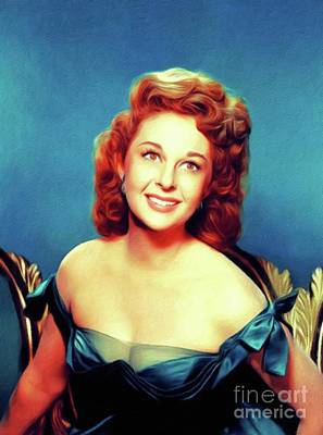Royalty-Free and Rights-Managed Images - Susan Hayward, Vintage Actress by Esoterica Art Agency