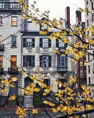 Wall Art - Photograph - 70 Beacon Street by Brian McWilliams