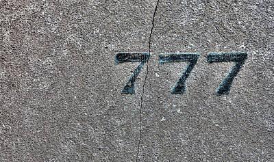 Photograph - 777 by Robert Ullmann
