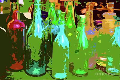 Digital Art - 8-14-2009img2299ab by Walter Paul Bebirian