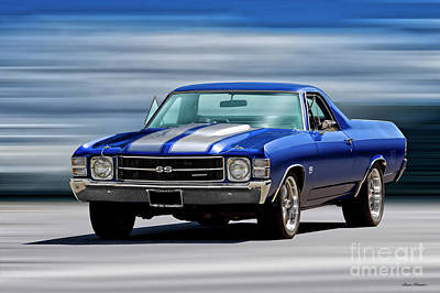 Olympic Sports - 1971 Chevrolet El Camino SS454 by Dave Koontz