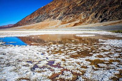 Photograph - Badwater Basin Death Valley National Park California by Alex Grichenko