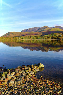 Mixed Media - Buttermere by Smart Aviation