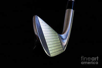 Photograph - Golf Club Iron by Mats Silvan