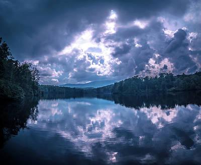 Photograph - Julian Price Lake, Along The Blue Ridge Parkway In North Carolin by Alex Grichenko
