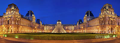 Photograph - Musee Du Louvre by Brian Jannsen