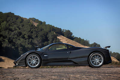 Photograph - #pagani #zonda F #print by ItzKirb Photography