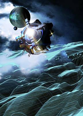 Digital Art - Space Exploration, Artwork by Victor Habbick Visions