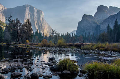 Photograph - View Of El Capitan In Yosemite National Park by Alex Grichenko