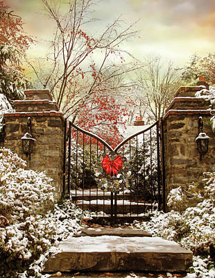 Photograph - Holiday Gates by Jessica Jenney