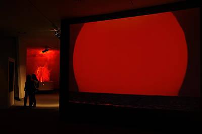 Priska Wettstein Pink Hues -  Niemeyer Center - Spain by Carlos Mora