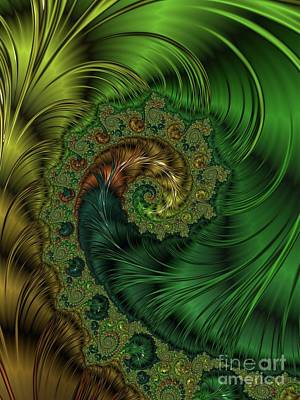Surrealism Digital Art - Beautiful Abstracts by Raphael Terra by Esoterica Art Agency