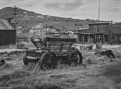 Photograph - Bodie California by Mike Ronnebeck