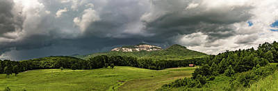 Photograph - Landscapes Near Lake Jocassee And Table Rock Mountain South Caro by Alex Grichenko