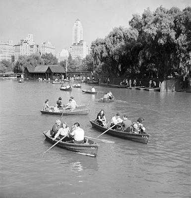 Photograph - New York Central Park by Granger