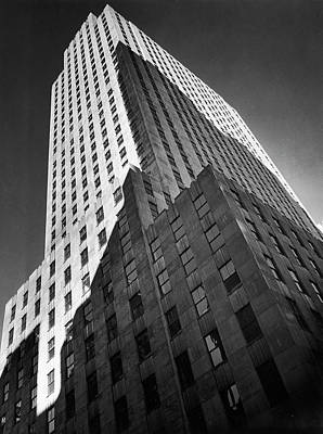 Photograph - 9 Rockefeller Plaza, Which Housed Time by Margaret Bourke-white
