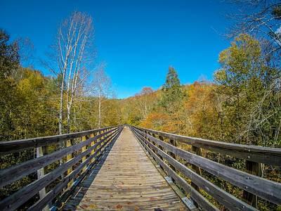Photograph - Scenic Views Along Virginia Creeper Trail by Alex Grichenko