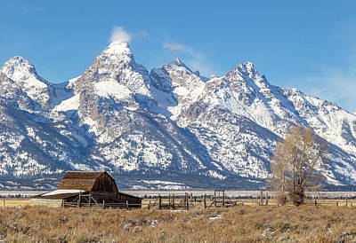 Photograph - The Grand Teton by Michael Chatt