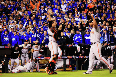 Photograph - World Series - San Francisco Giants V by Jamie Squire