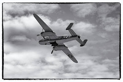 Photograph - Ww2 Usn Pbj-1 Plane by Chris Smith