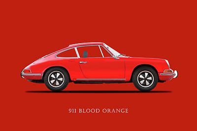 Wall Art - Photograph - 911 Blood Orange Phone Case by Mark Rogan